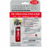 Liberty 50 Plus IGR Spot-On for X-Large Dogs (2 MONTHS)