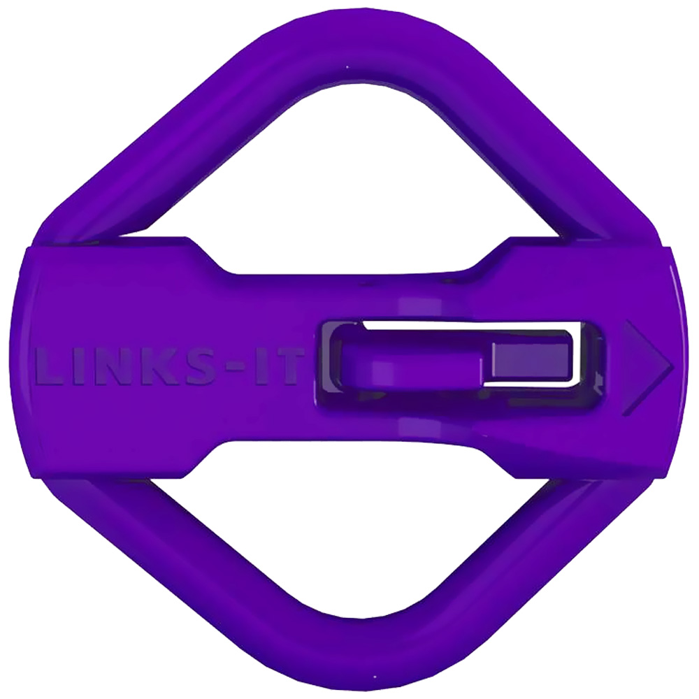 LINKS-IT Pet Tag Connector - Purple