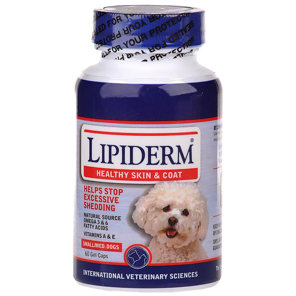 Lipiderm Small/Medium Dogs (60 Gel Capsules)