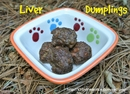 Liver Dumplings Recipe For Dogs