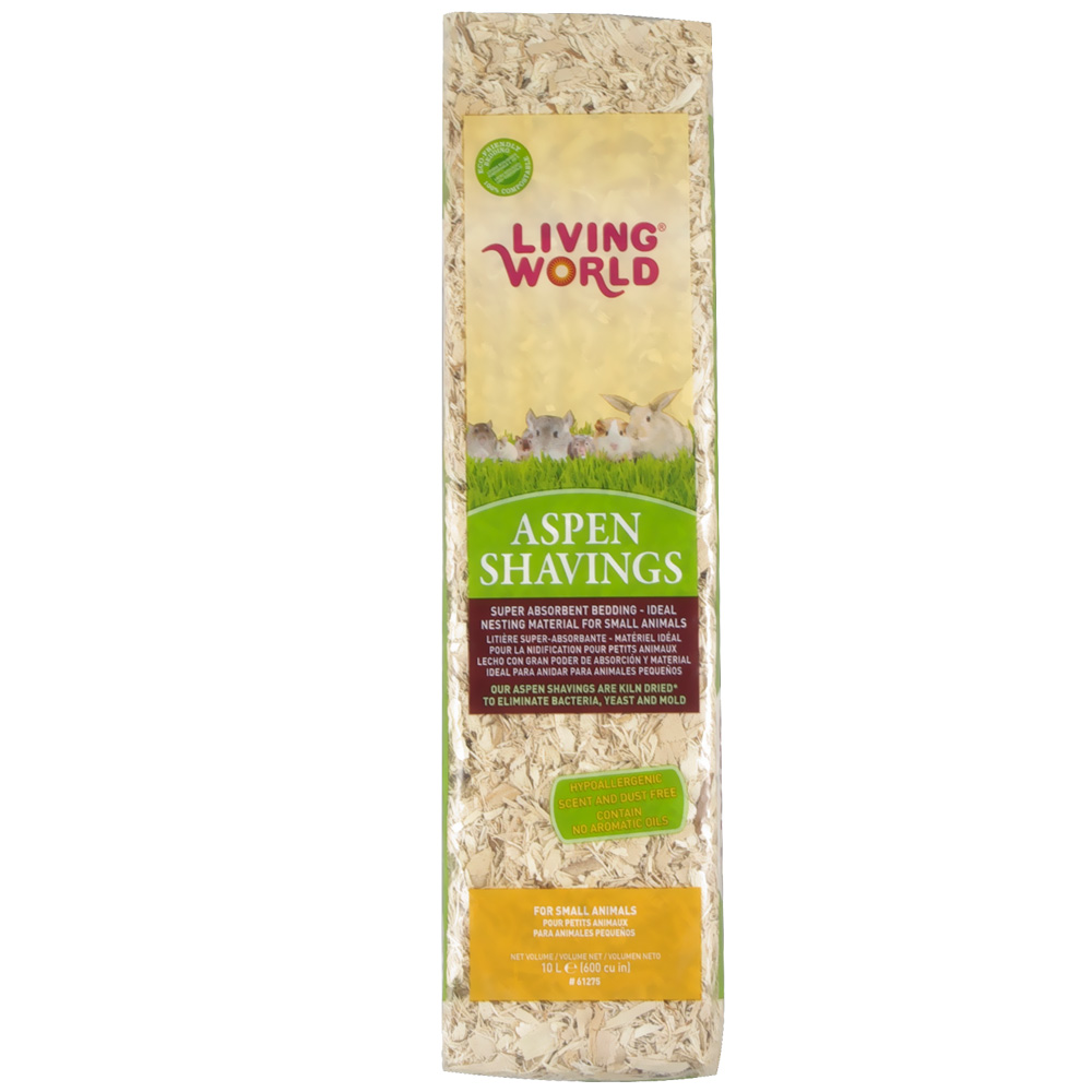 Living World Aspen Shavings (600 cu inch)