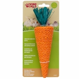 Living World Nibblers Corn Husk Chews Carrot