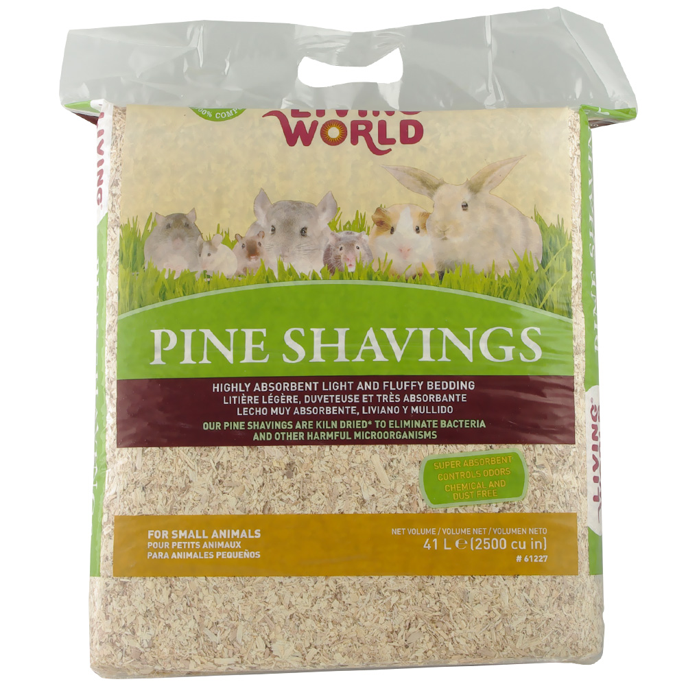 Living World Pine Shavings (2500 cu inch)