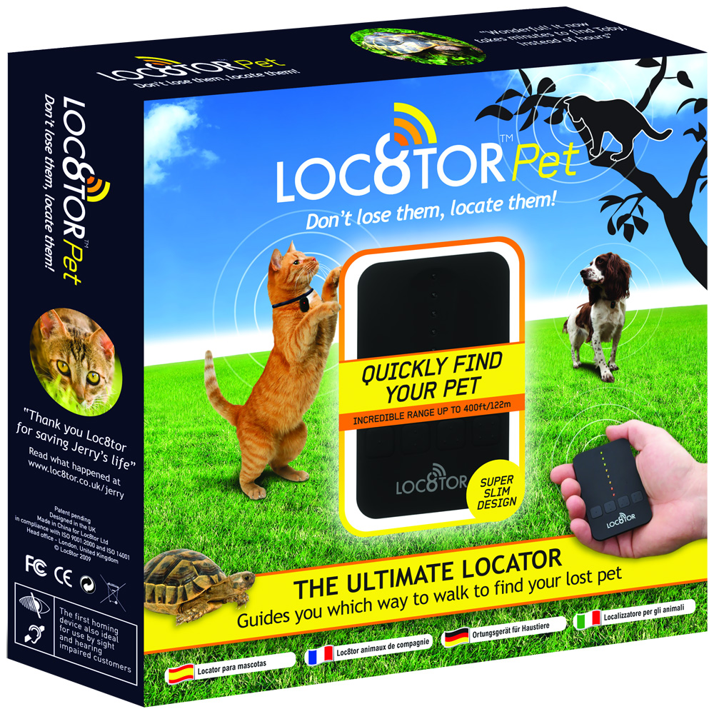 Loc8tor Pet Handheld Finder Locator