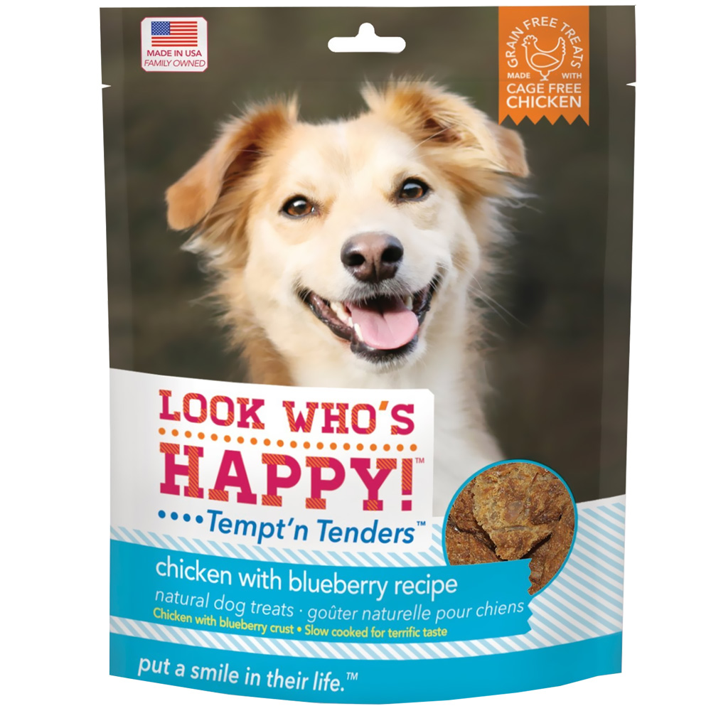 Look Who's Happy! Tempt'n Tenders - Chicken & Blueberry (4 oz)