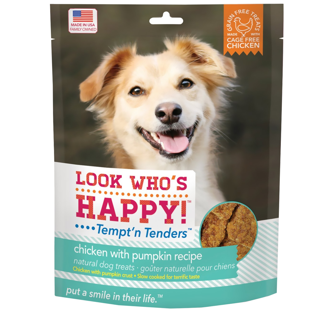 Look Who's Happy! Tempt'n Tenders - Chicken & Pumpkin (4 oz)