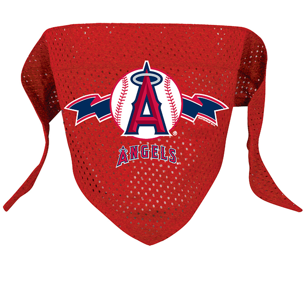 Los Angeles Angels Dog Bandana - Large