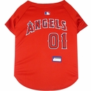 Los Angeles Angels Dog Jerseys