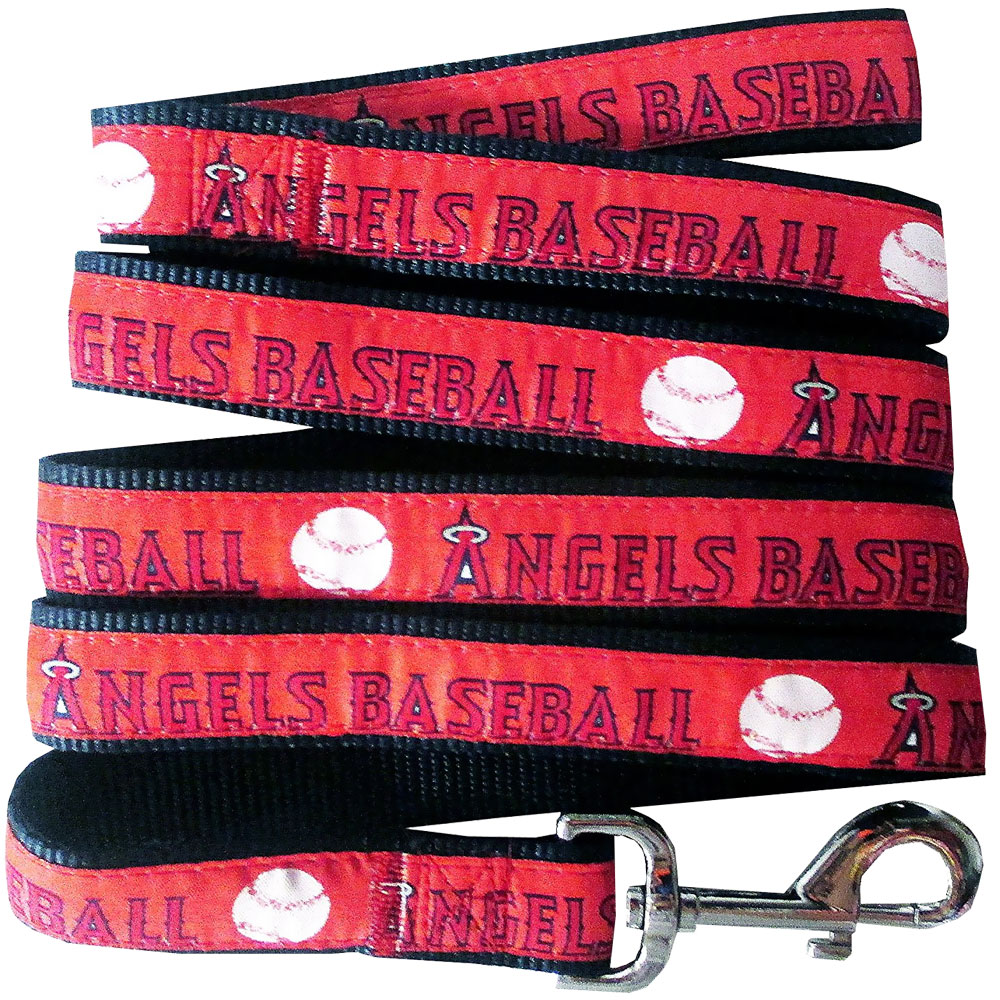 Los Angeles Angels Dog Leash - Ribbon