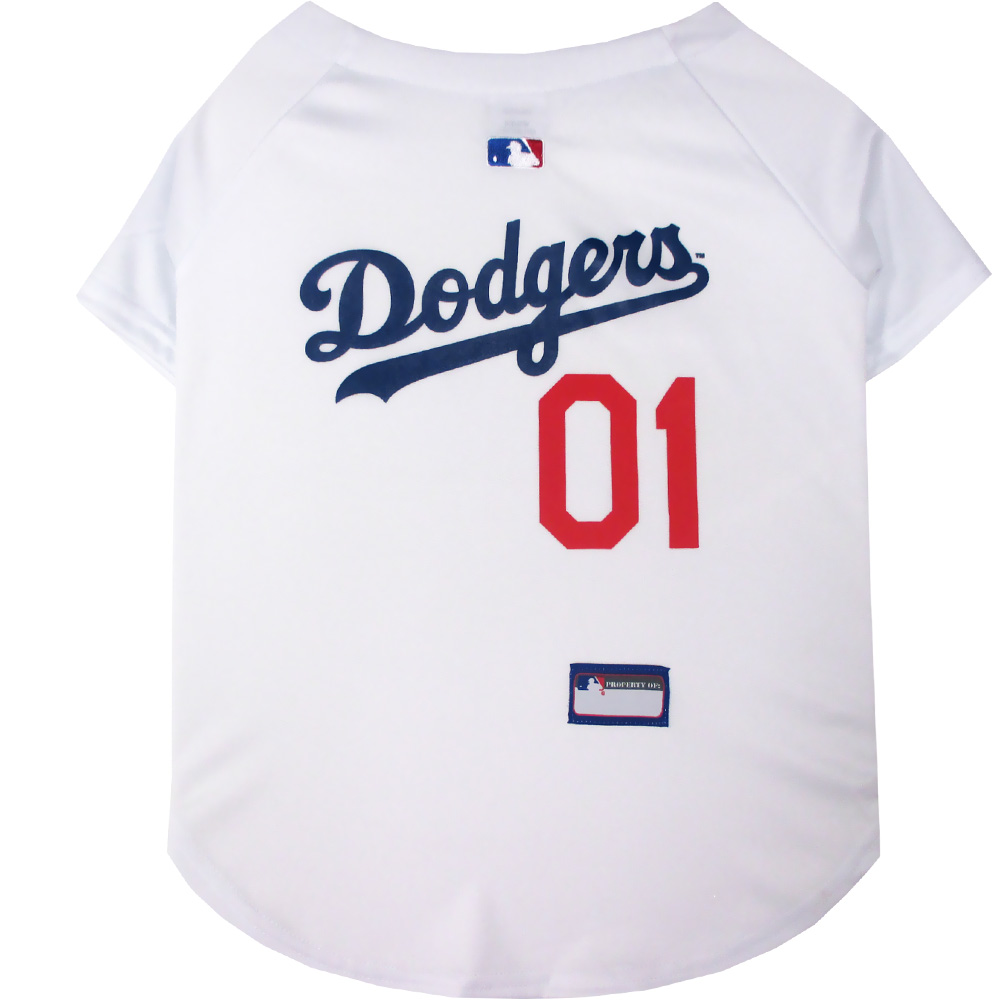 Los Angeles Dodgers Dog Jerseys