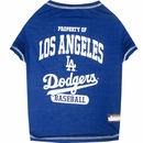 Los Angeles Dodgers Dog Tee Shirts