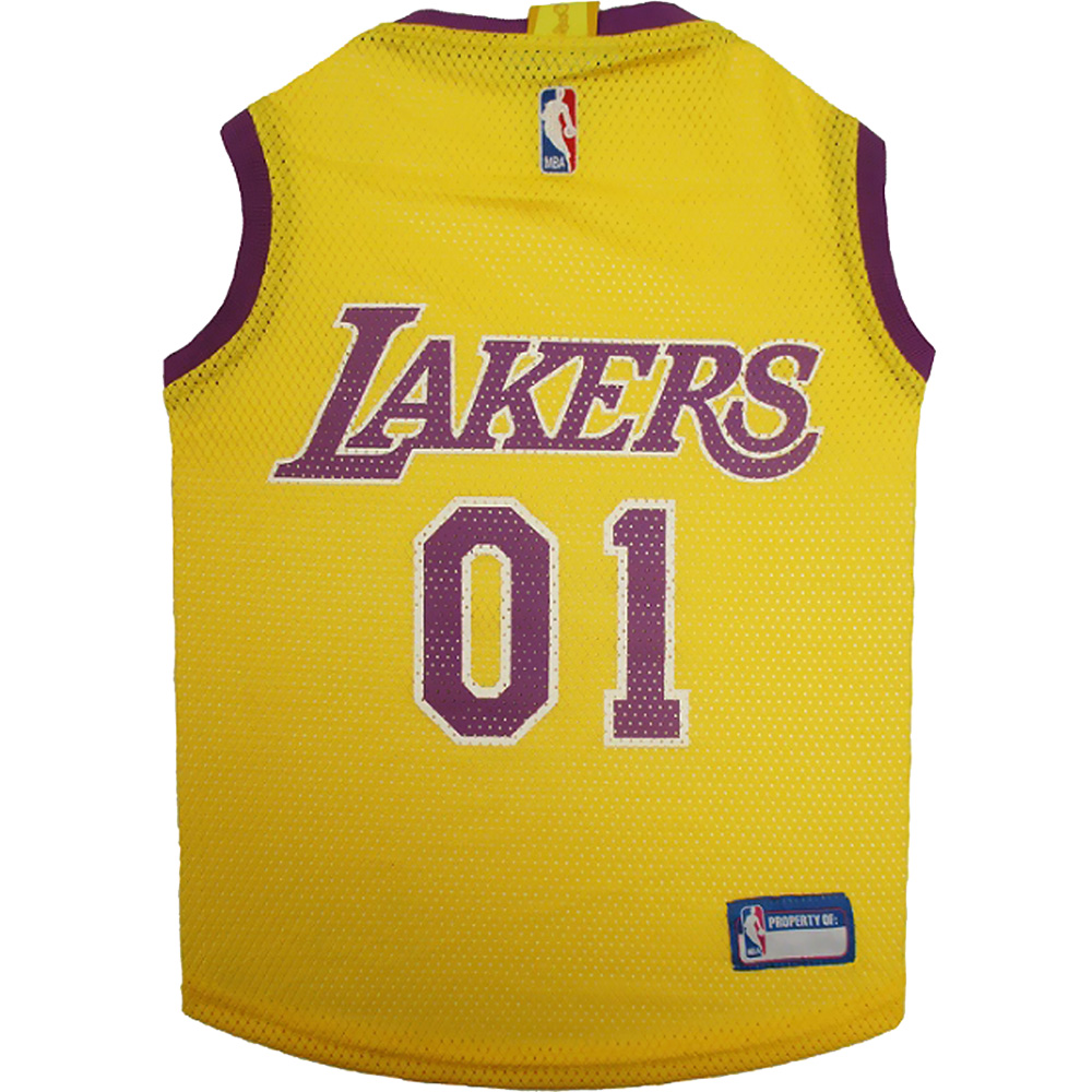 Los Angeles Lakers Dog Jerseys