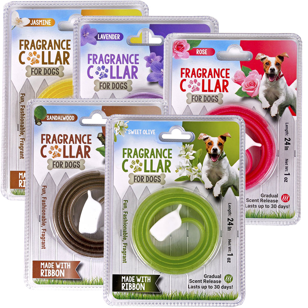 Mascot Fragrance Collar for Dogs - Assorted (5 Pack)