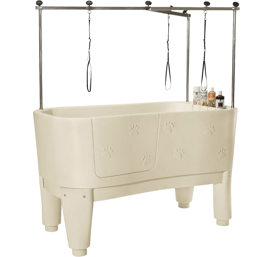 Master Equipment - PolyPro Grooming Tub - White