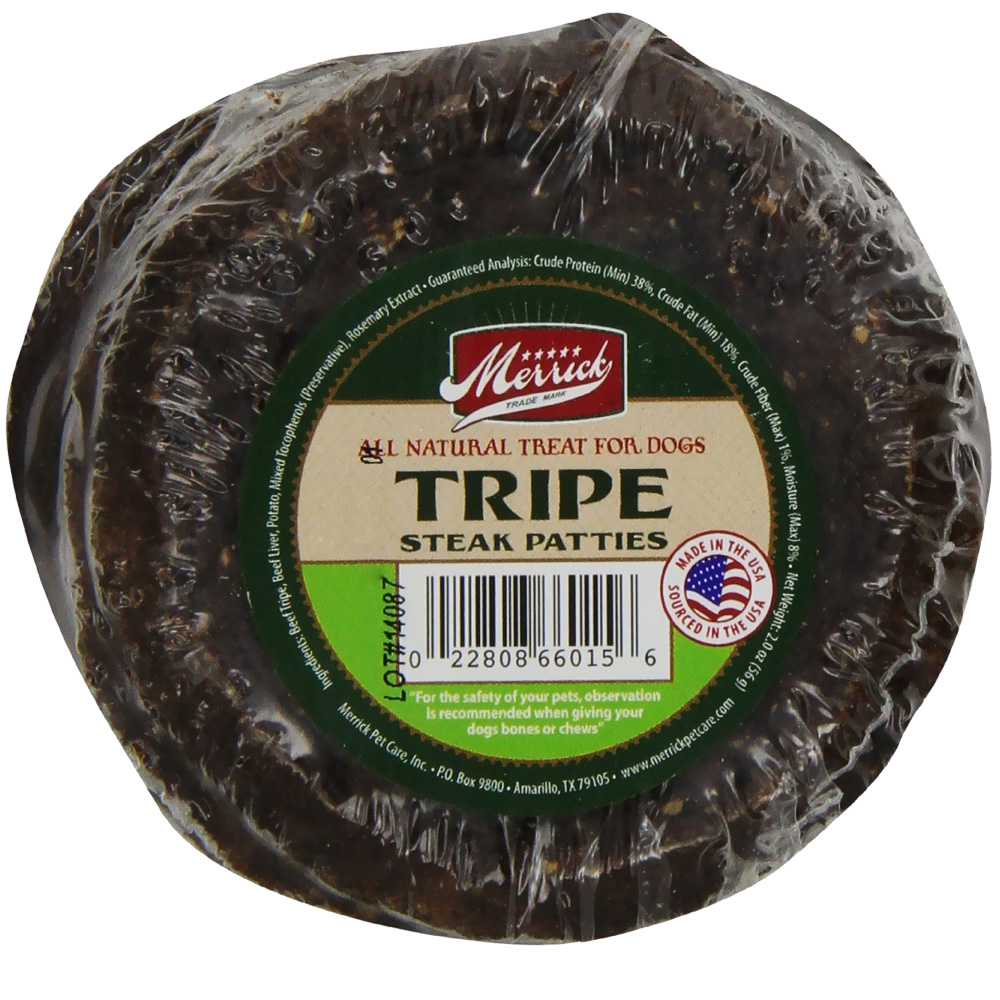 Merrick Tripe & Liver Patties (5 pack)