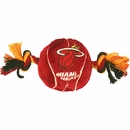 Miami Heat Plush Dog Toy