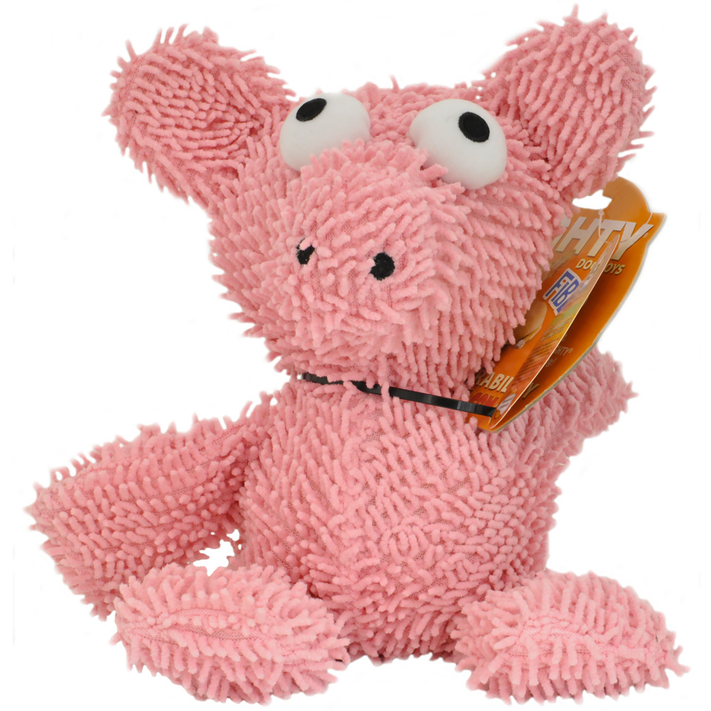 Mighty Micro Fiber Dog Toy - Pig