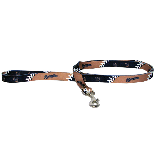 Milwaukee Brewers Dog Collars & Leashes