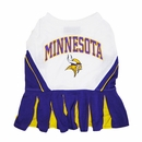 Minnesota Vikings Cheerleader Dog Dresses