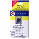 Miracle Care R-7M Ear Mite Treatment Kit for Cats (2 oz)