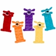 "Multipet Loofa Squeaker Mat Dog Toy 12"" (Assorted Colors)"