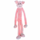 "Multipet Swingin Slevins Plush Dog Toy 30"" - Pig"