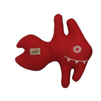 "My Good Dog Fish Dog Toy - 10"" Assorted"