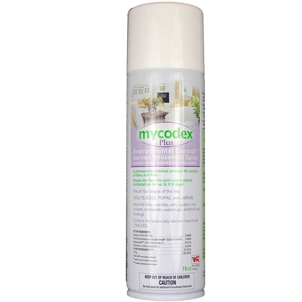 Mycodex Plus - Environmental Control Aerosol Household Spray (16 oz)