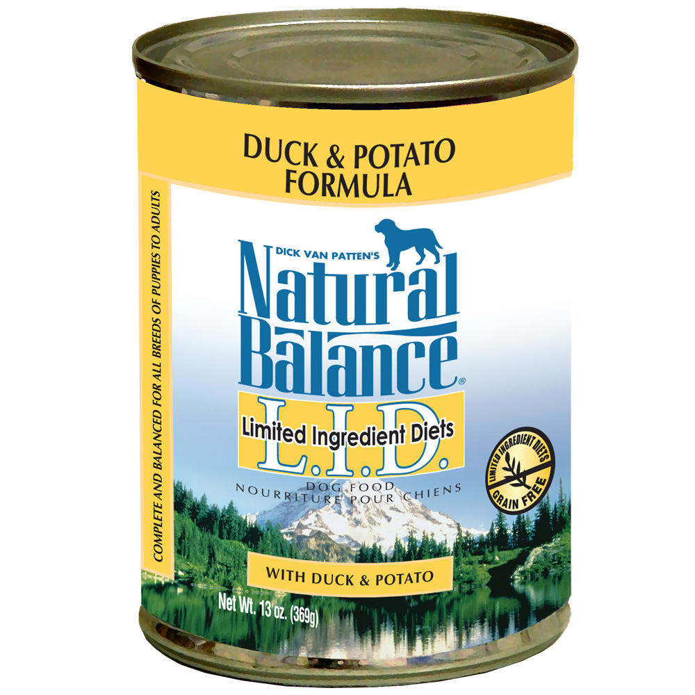 Natural Balance Limited Ingredient Diets - Duck & Potato (13 oz Can)