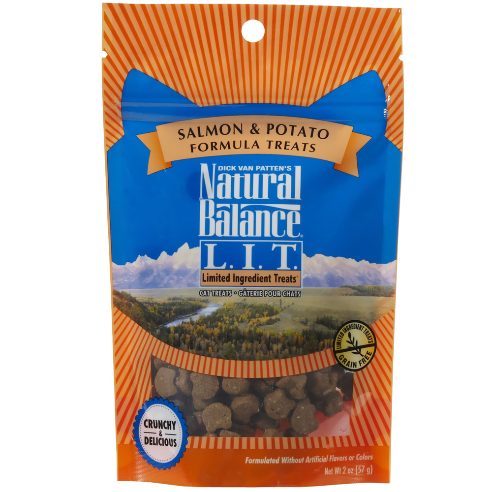 Natural Balance Limited Ingredient Treats - Salmon & Potato for Cats (2 oz)