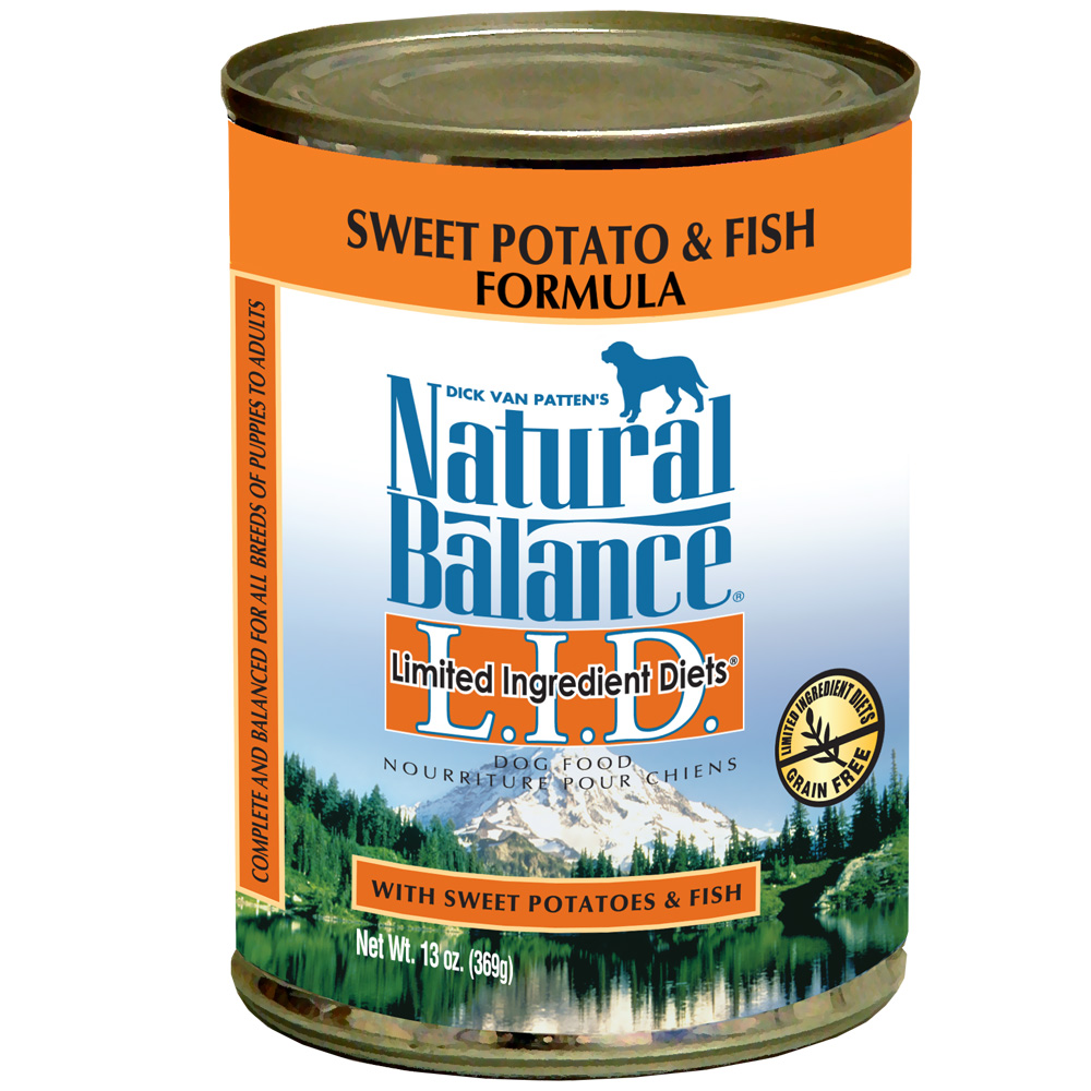Natural balance limited ingredient diets sweet potato for Natural balance dog food sweet potato and fish