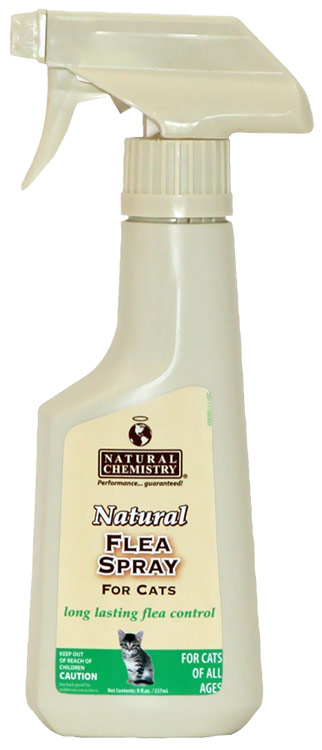 Natural Chemistry Natural Flea Spray for Cats (8 oz)