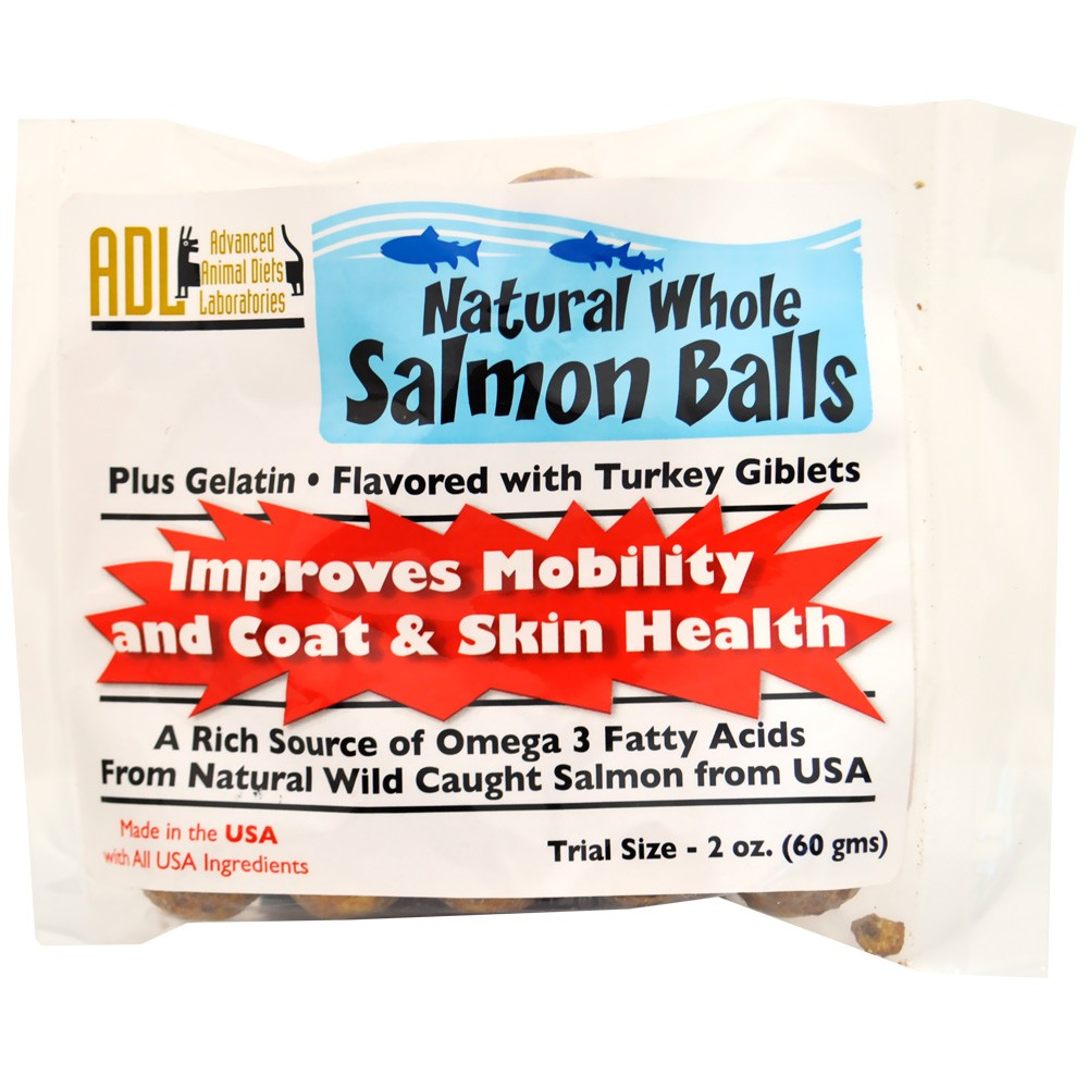 Natural Whole Salmon Balls