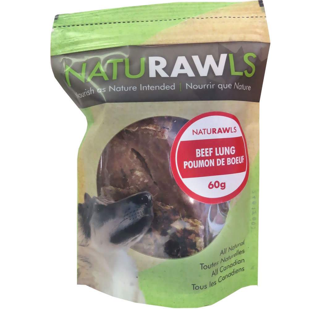NatuRAWls Beef Lung (2.12 oz)