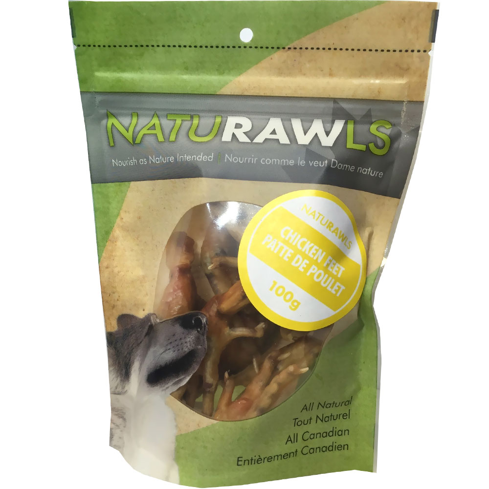 NatuRAWls Chicken Feet (3.53 oz)