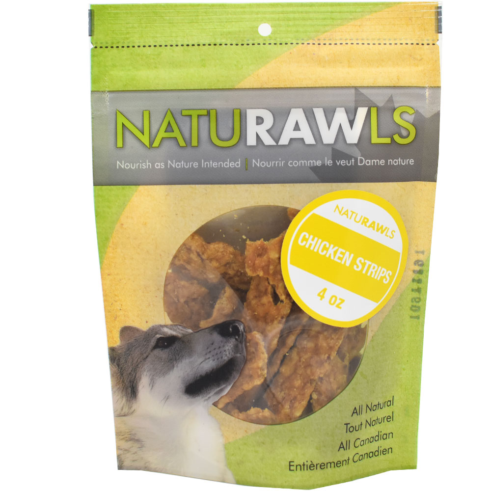 NatuRAWls Chicken Strip (4 oz)
