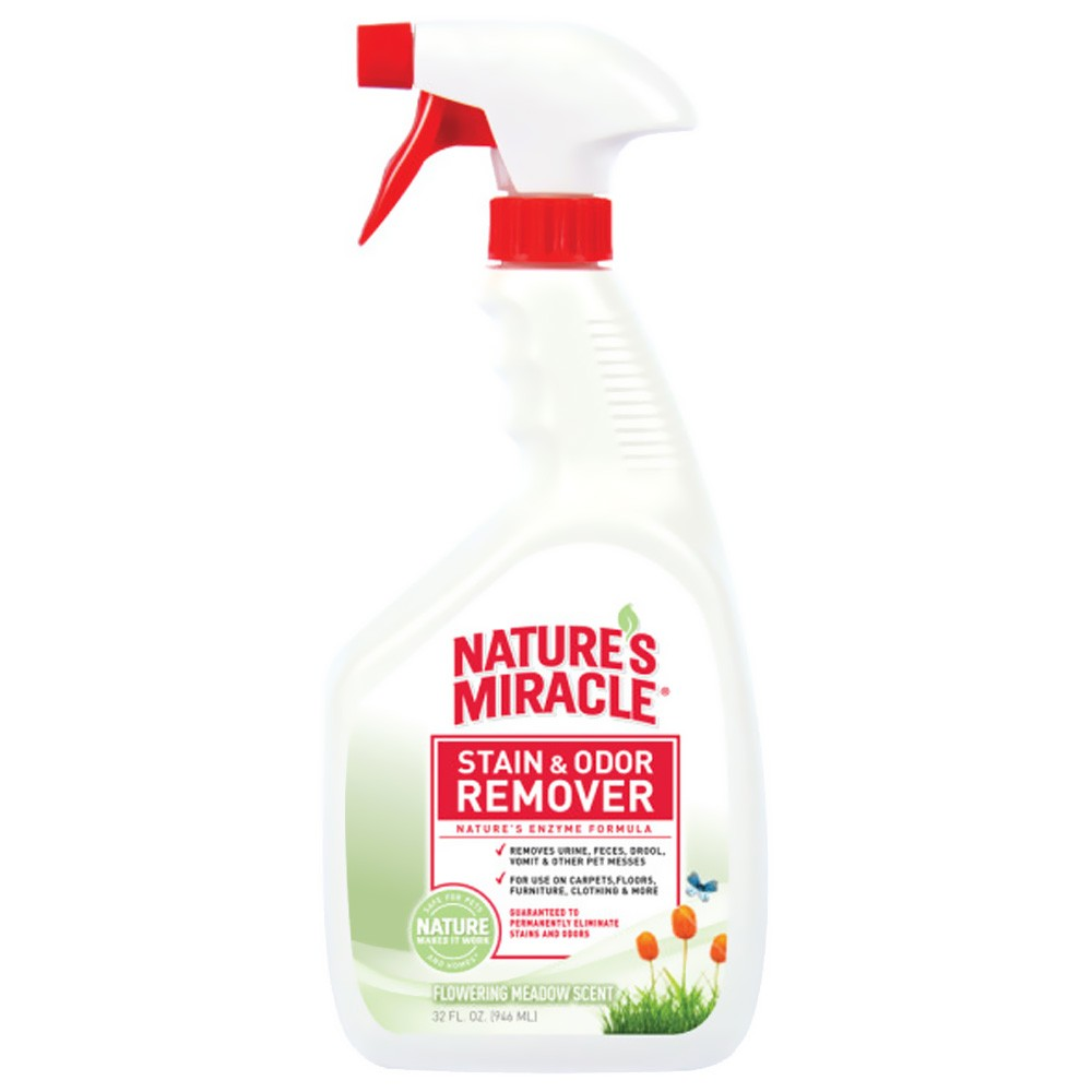 Nature's Miracle Stain & Odor Remover Flowering Meadow Scent (32 oz)