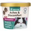 NaturVet Aches & Discomfort Plus Glucosamine for Cats (60 Soft Chew)