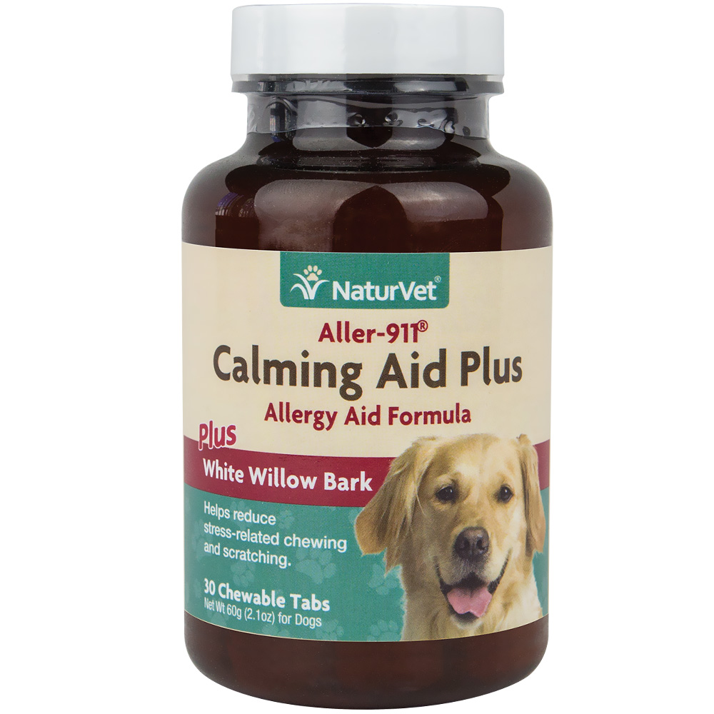 NaturVet Aller-911 Calming Aid Plus (30 chewable tablets)