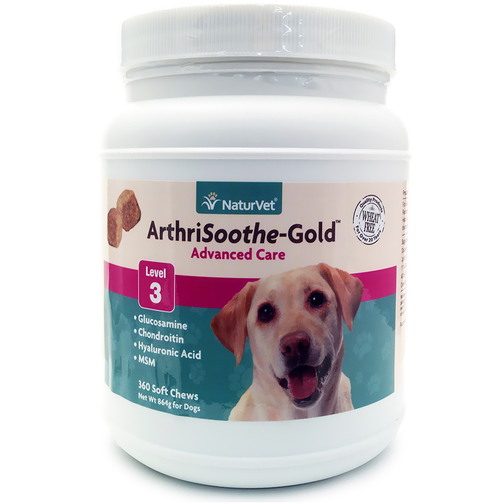 NaturVet ArthriSoothe-GOLD (360 Soft Chews)