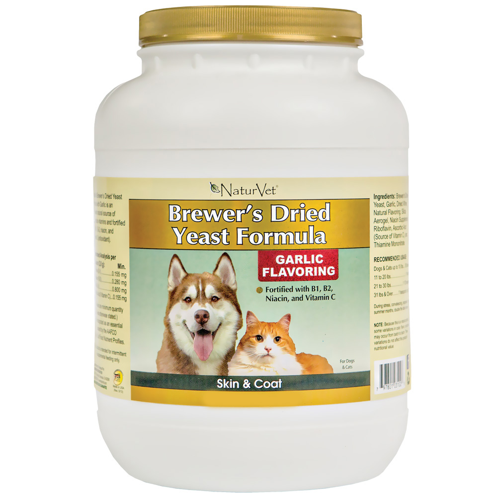 NaturVet Brewer's Yeast & Garlic Powder (25 lb)