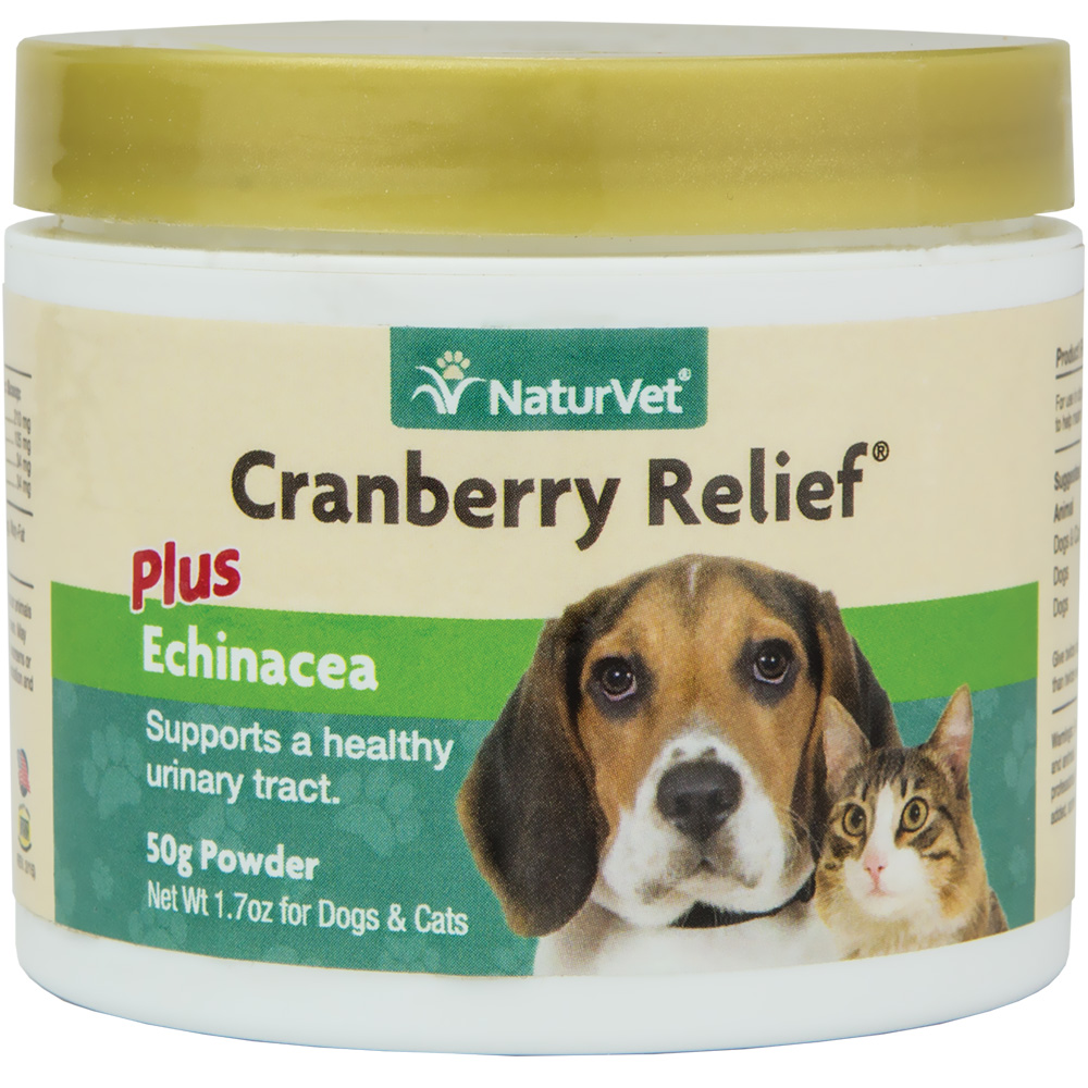 NaturVet Cranberry Relief & Bladder Support