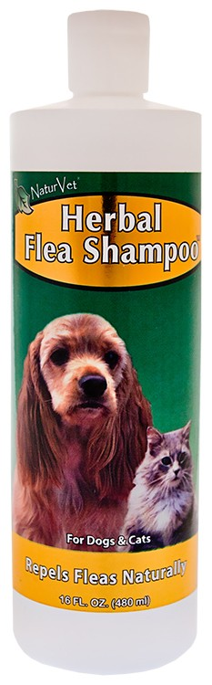 NaturVet Herbal Flea Shampoo