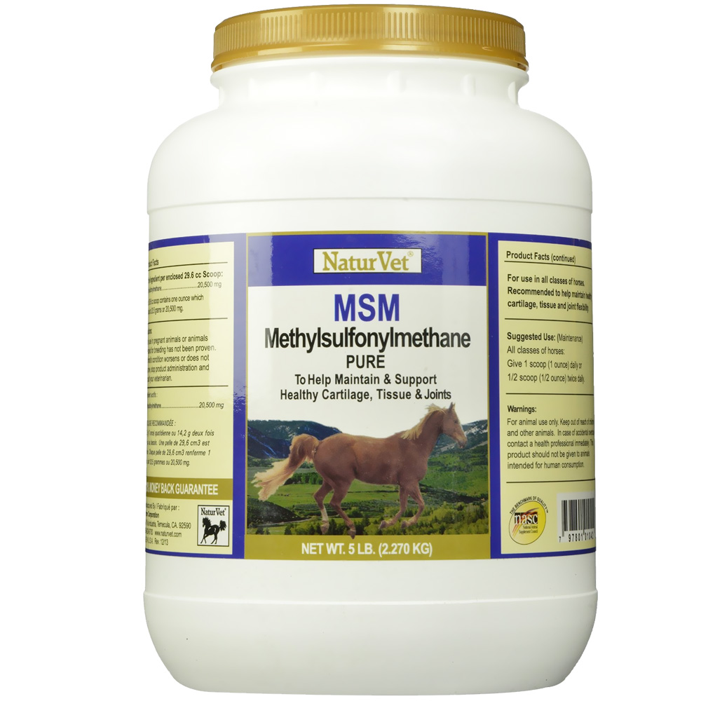 NaturVet MSM Pure Powder (5 lb)