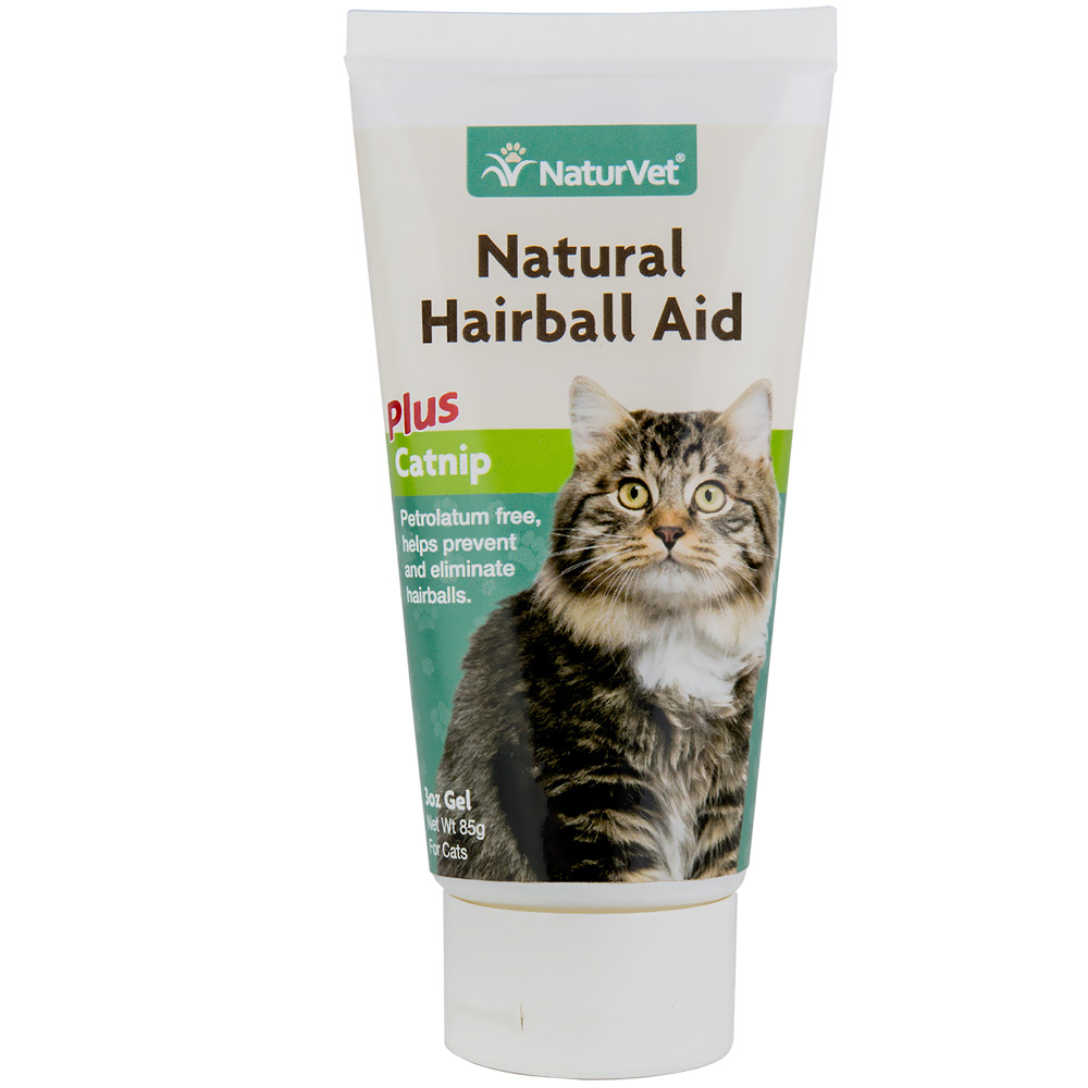 NaturVet Natural Hairball Aid with Catnip (3 oz)
