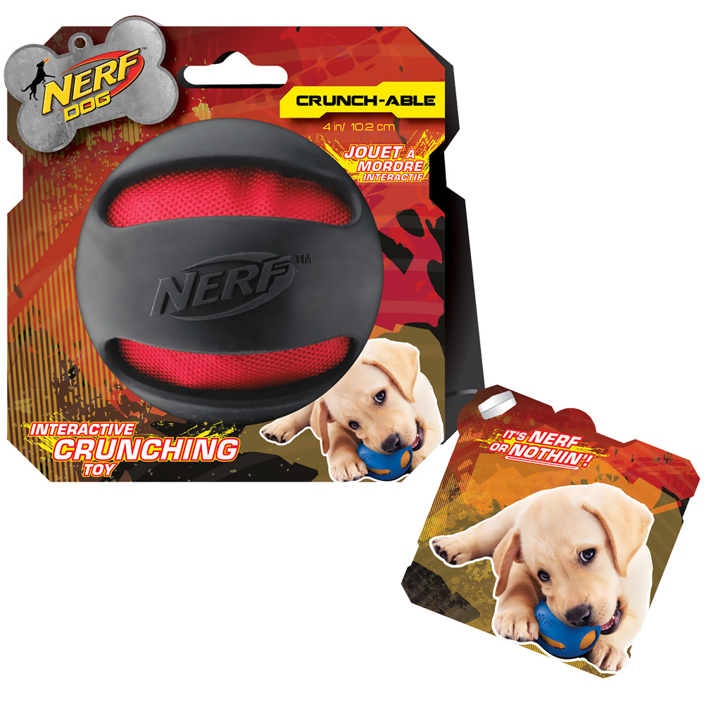 Nerf Dog Crinkle Balls - Black