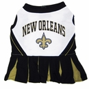 New Orleans Saints Cheerleader Dog Dresses