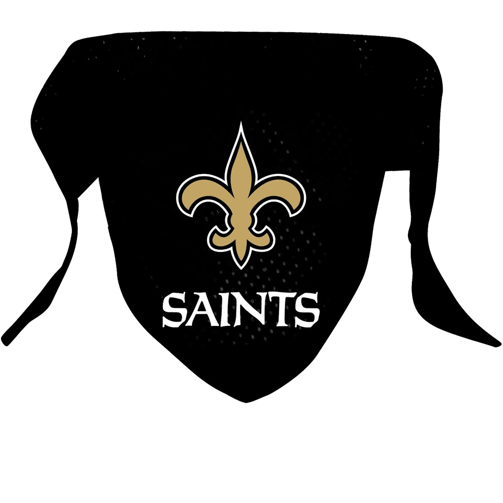 New Orleans Saints Dog Bandanas