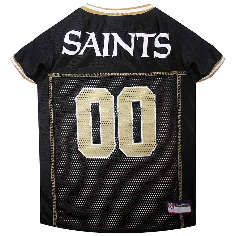 New Orleans Saints Dog Jerseys