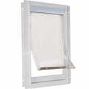 New Style Plastic & Deluxe Pet Door - Extra Large